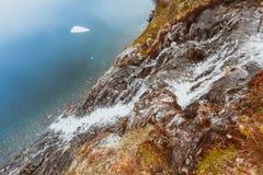 Lac Djupvatnet, Norvège Photos libres de droits