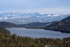 Lac Donner image libre de droits
