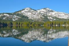 Lac 1 Donner Image libre de droits
