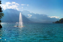 Lac du Annecy Eastern France Stock Images