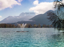 Lac du Annecy Eastern France Royalty Free Stock Photo