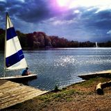 Lac du Genval obraz stock