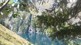 Lac Du Lauvitel Zdjęcia Royalty Free