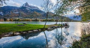 Lac du Passy, France Stock Photos