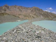 Lac du Pave, parc national d'Ecrins, montagnes d'Alpes, Frances Image libre de droits