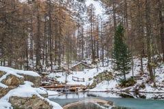 Lac du Pellaud Stock Photos
