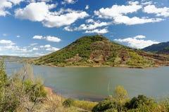Lac du Salagou 库存图片