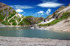 Lac du Vieux Emosson. Swiss Alps Europe Royalty Free Stock Image