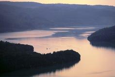 Lac du vouglans Stock Image