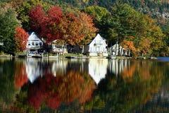 Lac Dunmore en automne Photographie stock