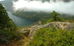 Lac eagle - Acadia photos libres de droits
