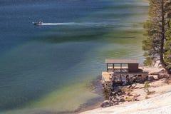 Lac echo Image libre de droits