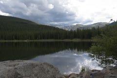 Lac echo Photographie stock
