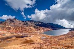 Lac elephant, vallée de Kupup, Sikkim, Inde Image stock