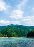 Lac en été Photographie stock