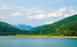 Lac en été Photo stock