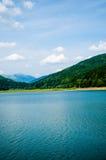 Lac en été Image stock