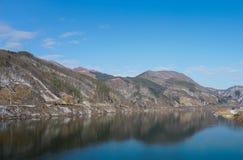 Lac en Corée Photos stock