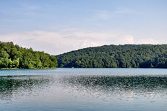 Lac en Croatie Images stock