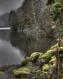 Lac en croissant Images stock