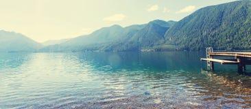 Lac en croissant photographie stock