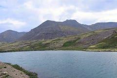 Lac en forme de coeur Image stock