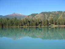Lac en Mongolie Image libre de droits