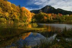 Lac en montagnes de Rhodope Images libres de droits