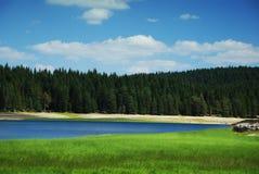 Lac en nature Image libre de droits