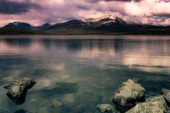 Lac en Norvège image stock