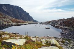 Lac en Slovaquie Images libres de droits