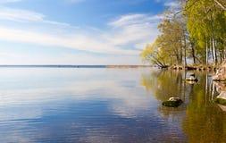 Lac en Suède Image libre de droits