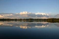 Lac en Suède Image stock