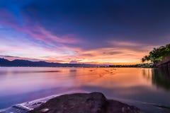 Lac en Thaïlande Image libre de droits