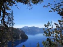 Lac en verre Image stock
