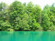 Lac Esmerald Photos libres de droits