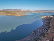 Lac et barrage Abiquiu photos libres de droits