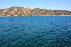 Lac et côtes Image stock