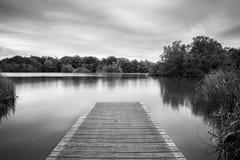 Lac et jetée Bolam Photo libre de droits