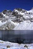 Lac et montagne Image libre de droits