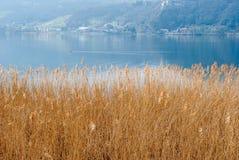 Lac et montagne Photos stock