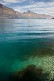 Lac et montagnes Image libre de droits