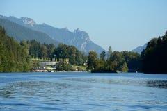 Lac et montagnes Koenigssee Photo libre de droits