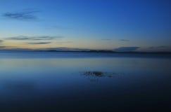 Lac et nuages Images libres de droits