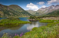 Lac et support photographie stock libre de droits