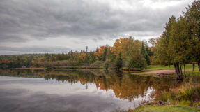 Lac Fanny Hooe photographie stock