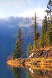 Lac Fernan, Idaho Images libres de droits