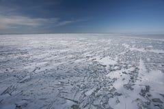 Lac figé Photos libres de droits