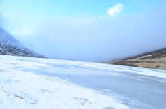 Lac figé Photo libre de droits