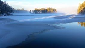 Lac figé images libres de droits